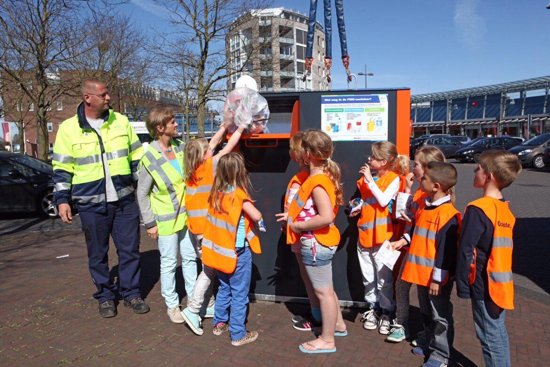 Gemeente start met plaatsing verzamelcontainers voor plastic, blik en drinkpakken