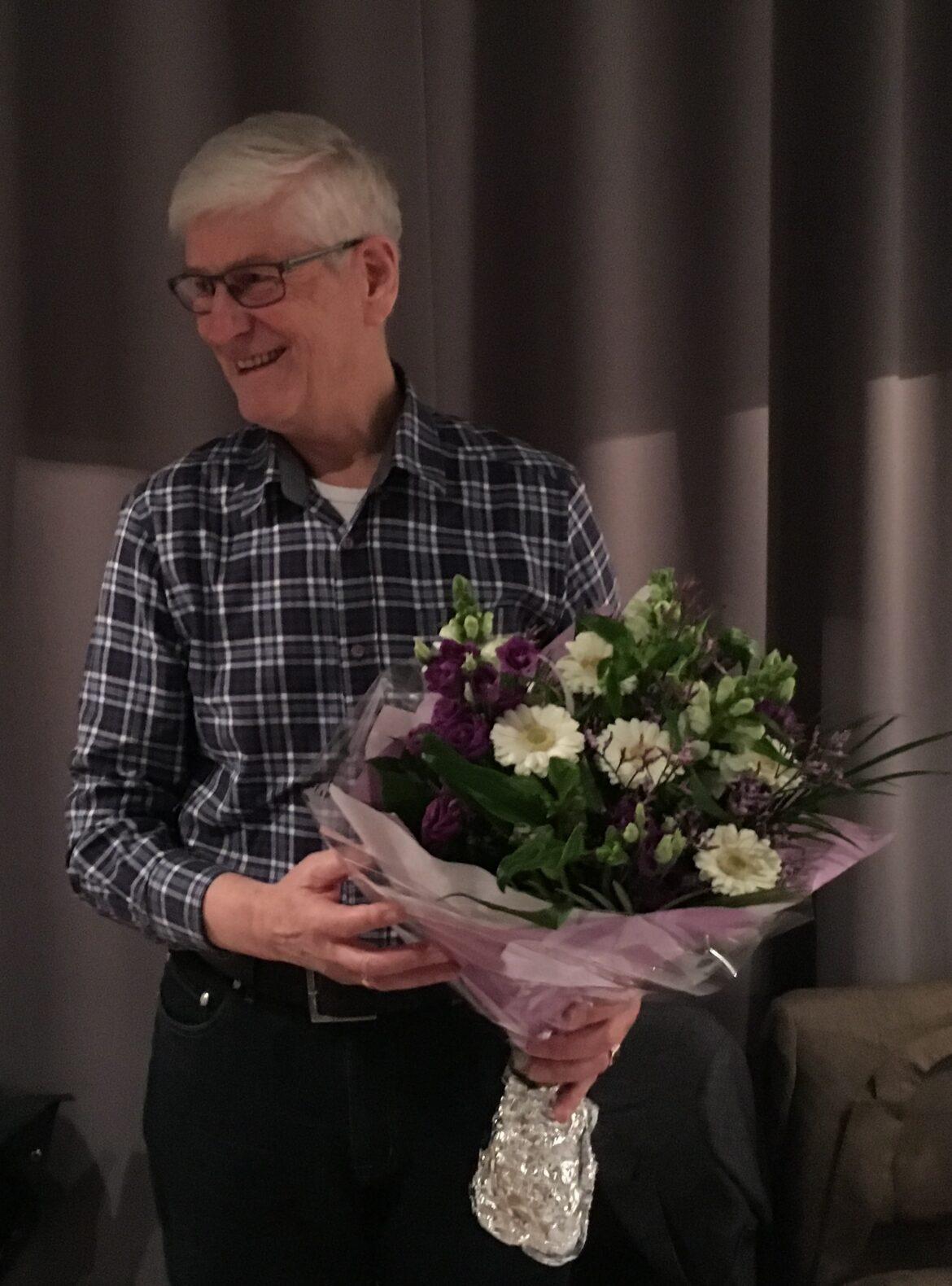 Penningmeester Albert Snippe kondigt afscheid aan