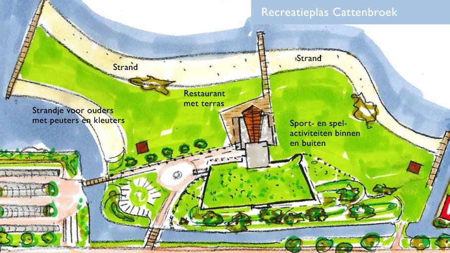 Enquête over recreatieplannen Cattenbroekerplas