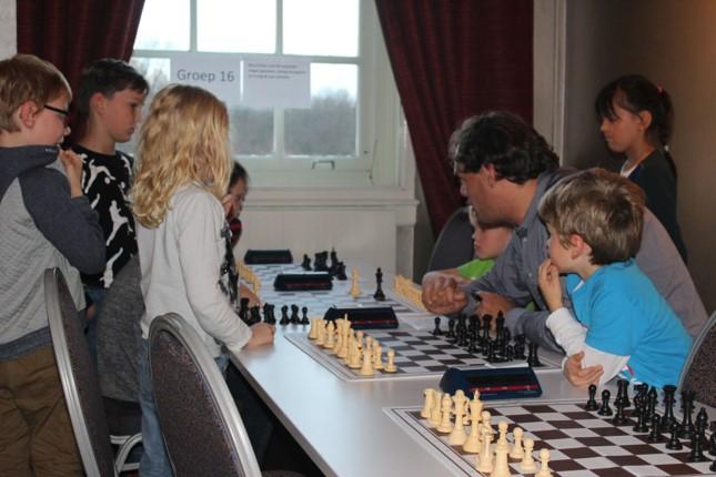Kennismaken met schaken voor basisschoolkinderen