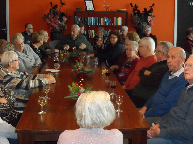 Senioren genieten van geslaagde kerstlunch