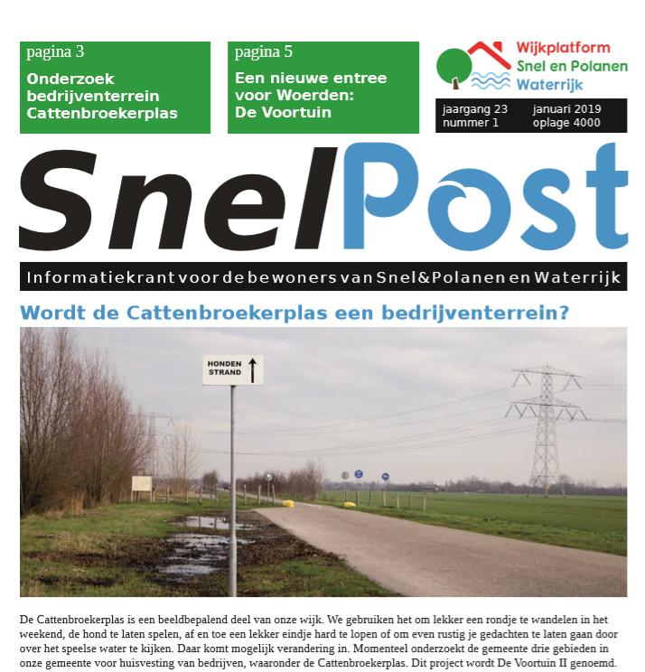 Digitale versie SnelPost januari 2019