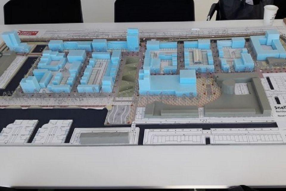 Update Snellerpoort en uitbreiding winkelcentrum Snel en Polanen